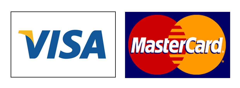 Accept master card and visa